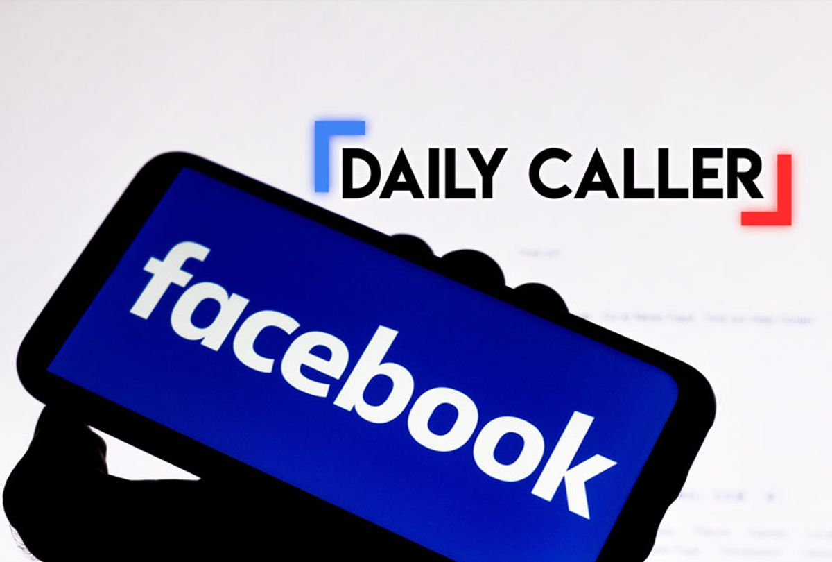 Facebook | The Daily Caller (Getty Images/WikiCommons/Salon)