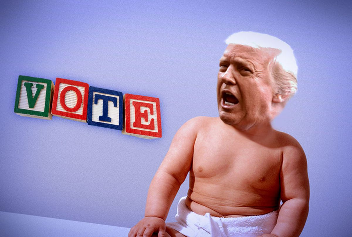 The Toddler-In-Chief (Getty Images)