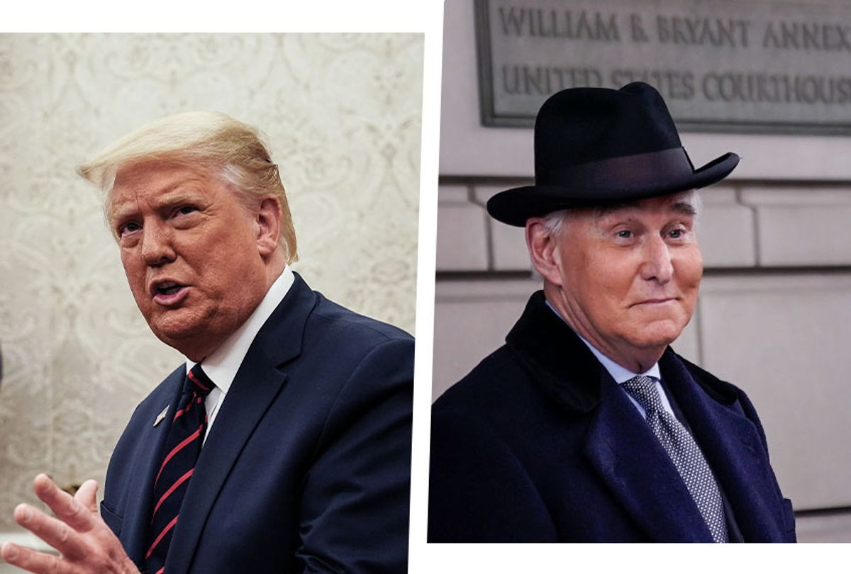 Donald Trump and Roger Stone (Photo illustration by Salon/Getty Images)