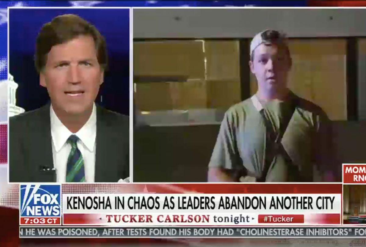 From the August 26, 2020, edition of Fox News' Tucker Carlson Tonight (Fox News)