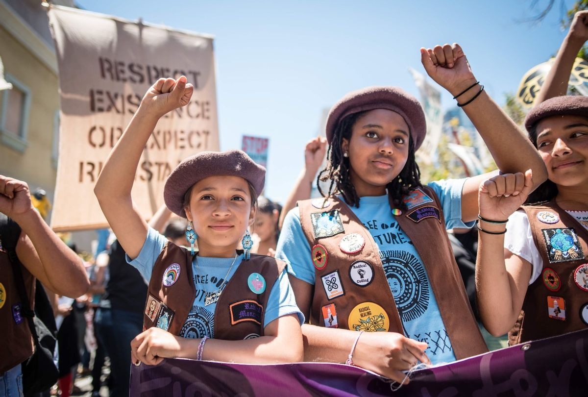 """""""We Are Radical Monarchs"""" (Courtesy of Brooke Anderson/PBS)"""