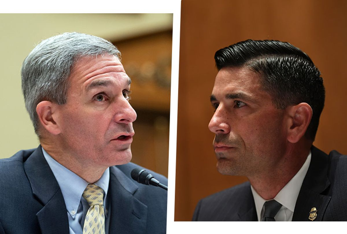 Chad Wolf and Ken Cuccinelli (Photo illustration by Salon/Getty Images)