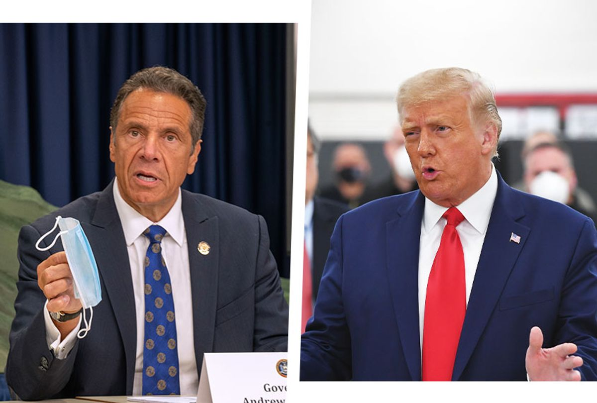 Andrew Cuomo and Donald Trump (Photo illustration by Salon/Getty Images)