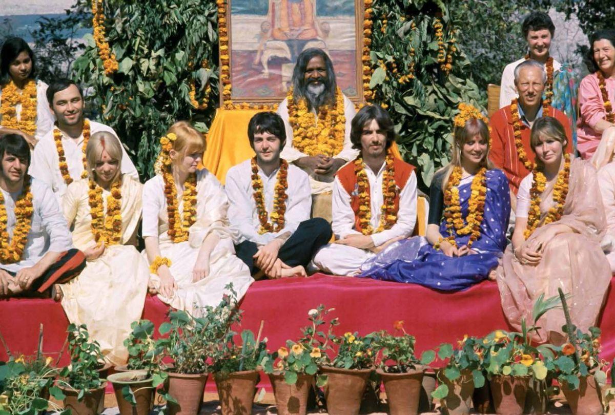Beatles in India, February 1968 (Fair Use)