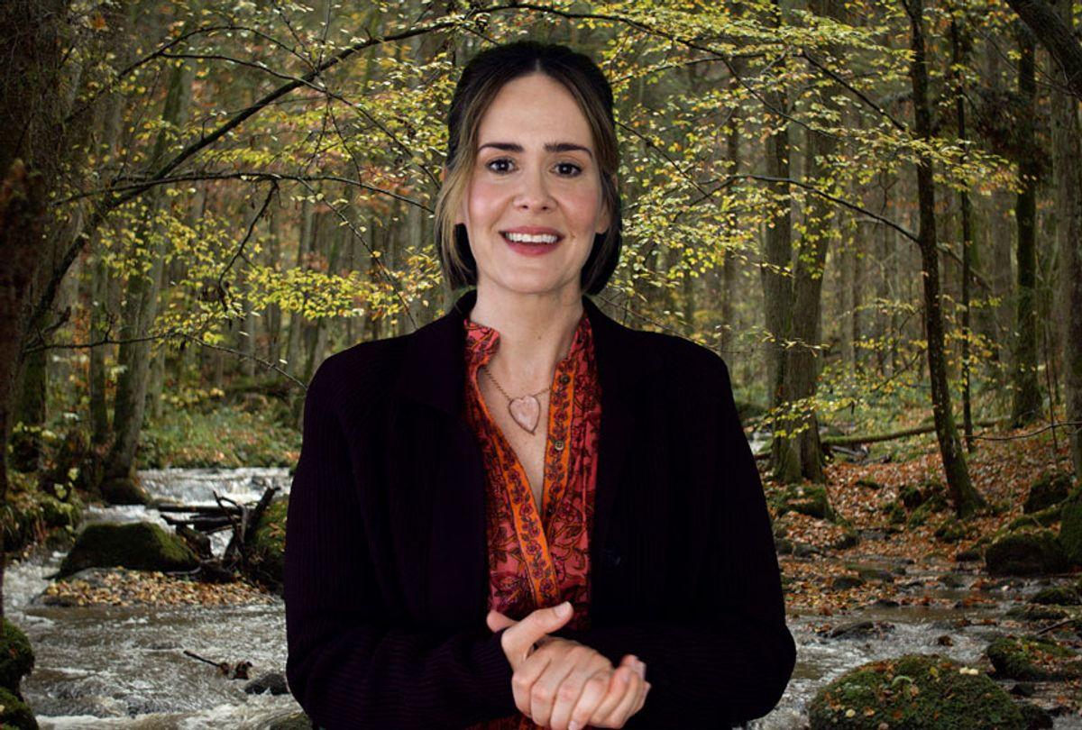 "Sarah Paulson in ""Coastal Elites"" (HBO)"