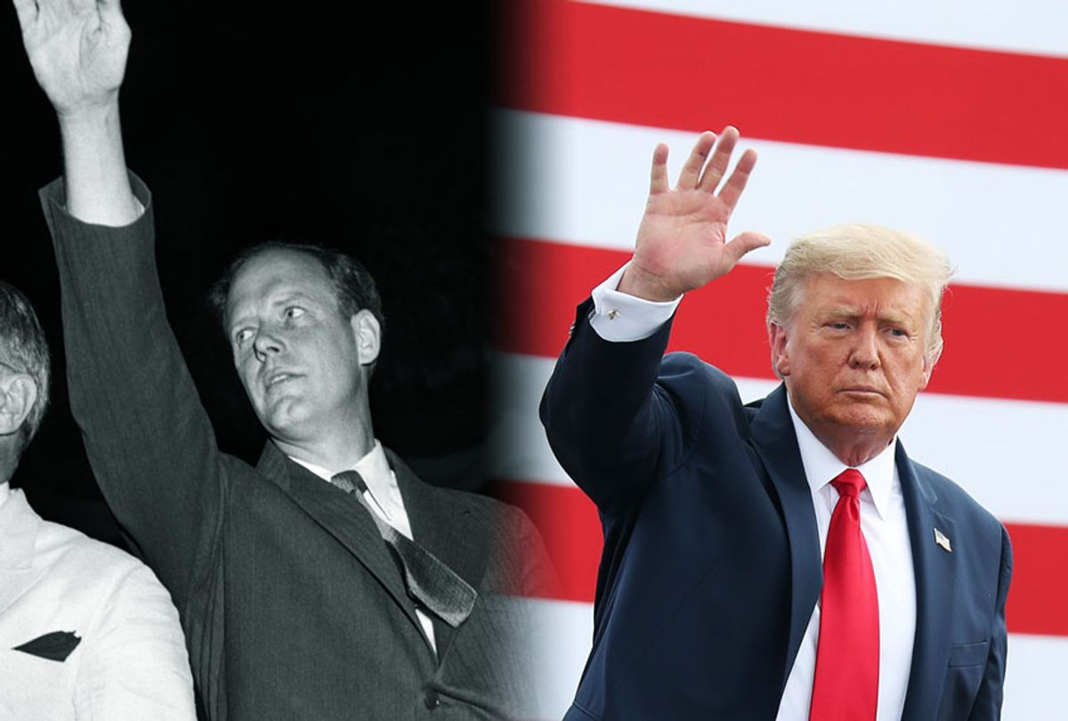 Charles Lindbergh and Donald Trump (Photo illustration by Salon/Getty Images)