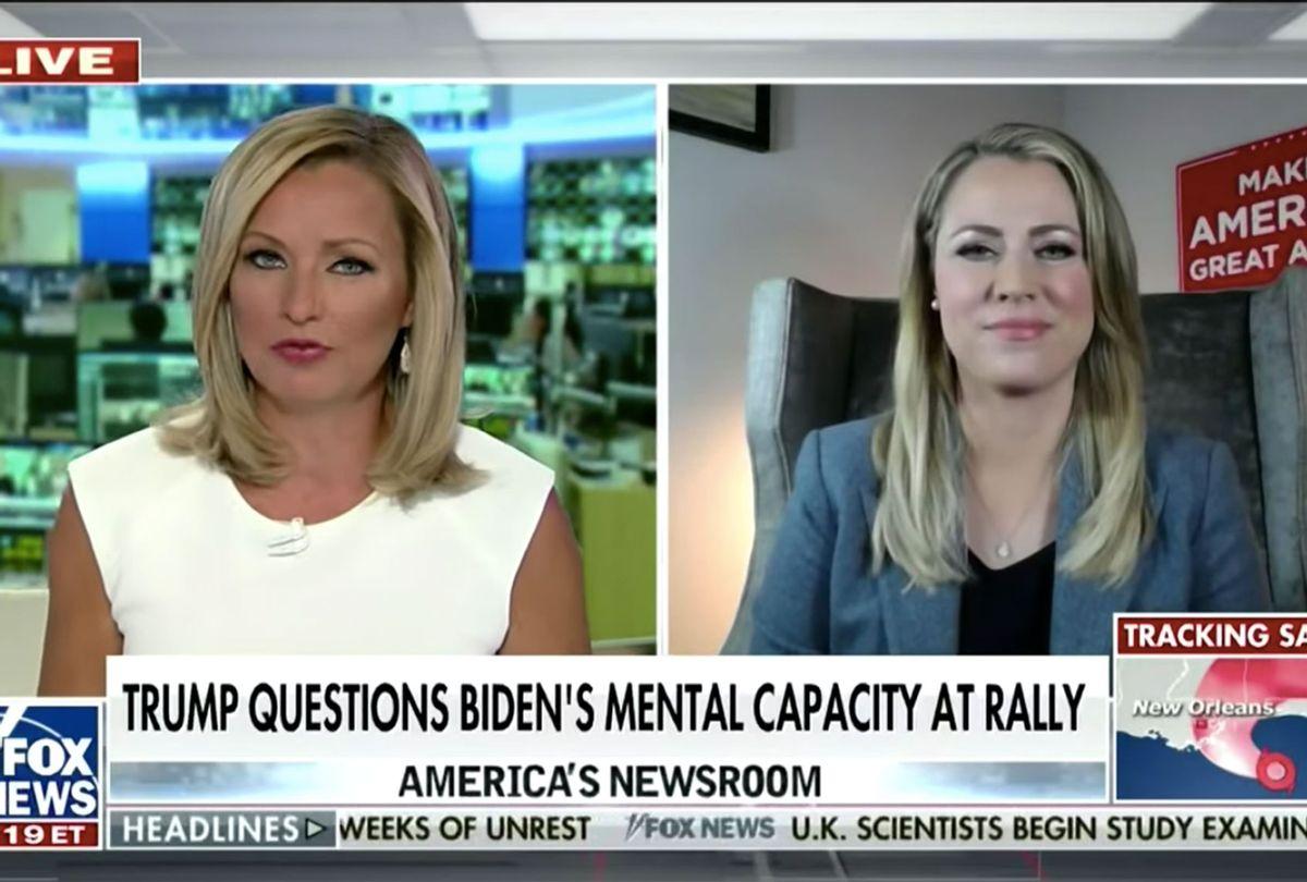Fox News host confronts Trump surrogate for failed attack on Biden's health (Fox News)