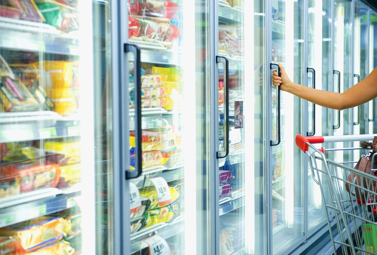 Shopping in frozen food aisle  (Getty Images)
