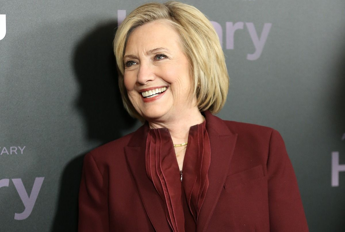 Hillary Clinton at Hulu documentary premiere (Monica Schipper/Getty Images for Hulu)