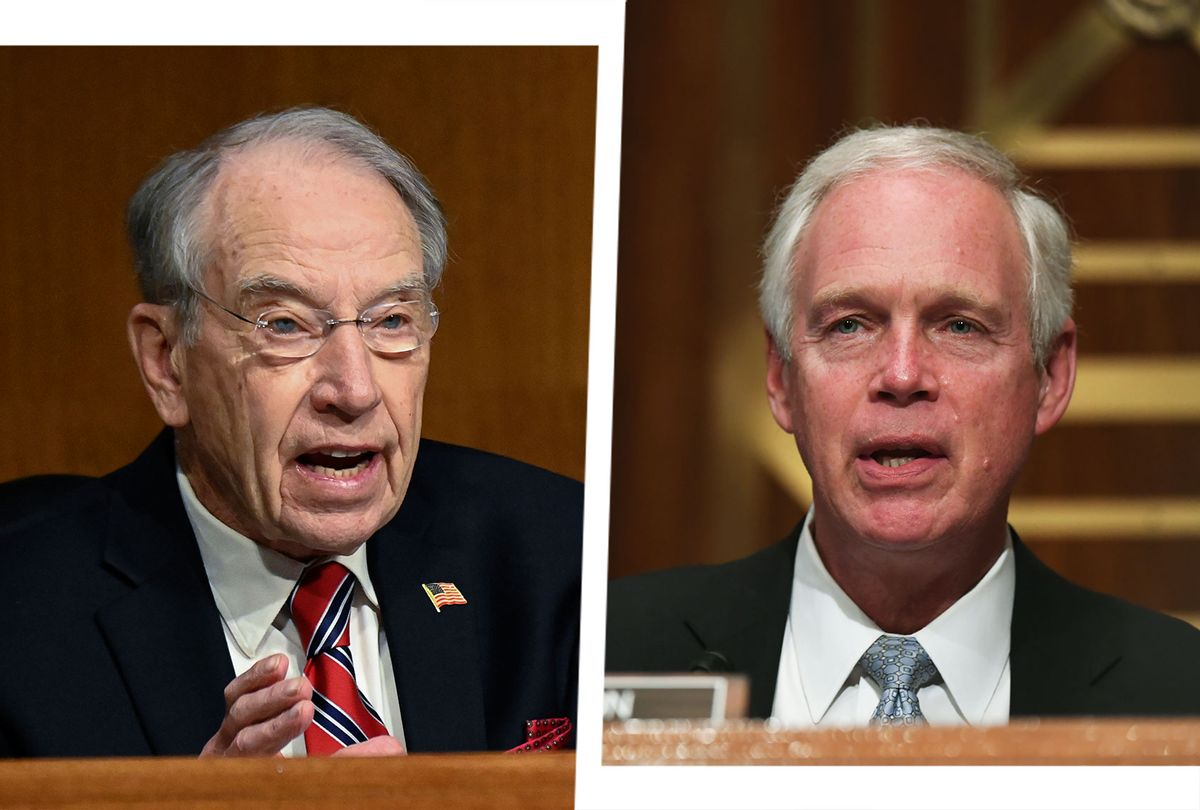 Chuck Grassley and Ron Johnson (Photo illustration by Salon/Getty Images)