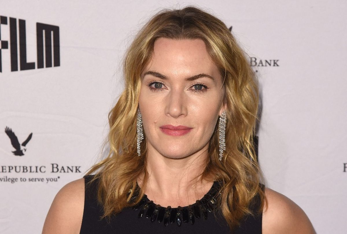 Kate Winslet attends SFFILM's 60th Anniversary Awards Night at Palace of Fine Arts Theatre (C Flanigan/Getty Images)
