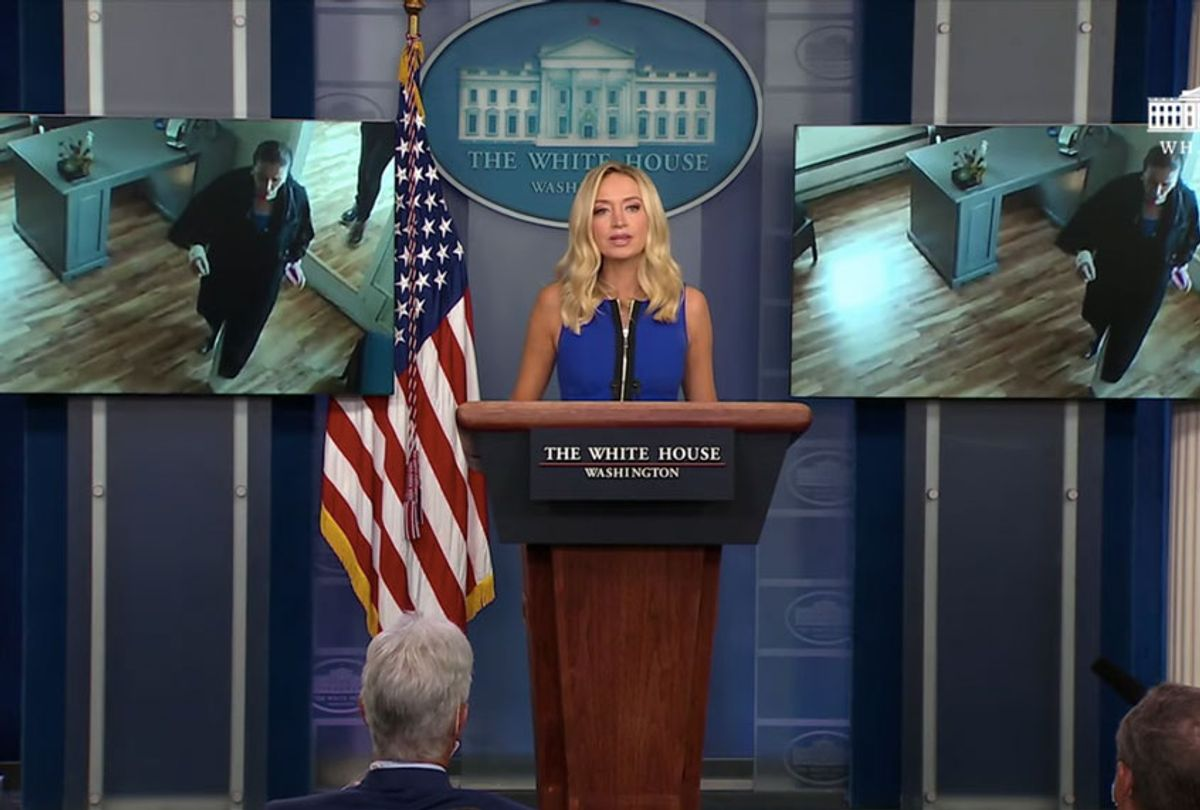 Press Secretary Kayleigh McEnany Holds a Press Briefing (The White House)