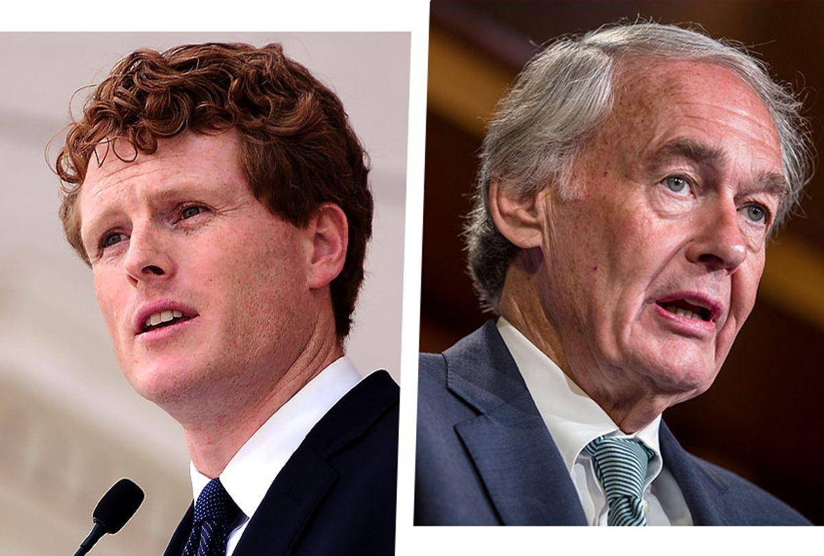 Joe Kennedy III and Sen. Ed Markey (Photo illustration by Salon/Getty Images)