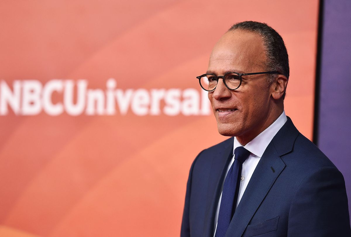 Lester Holt (Alberto E. Rodriguez/Getty Images)