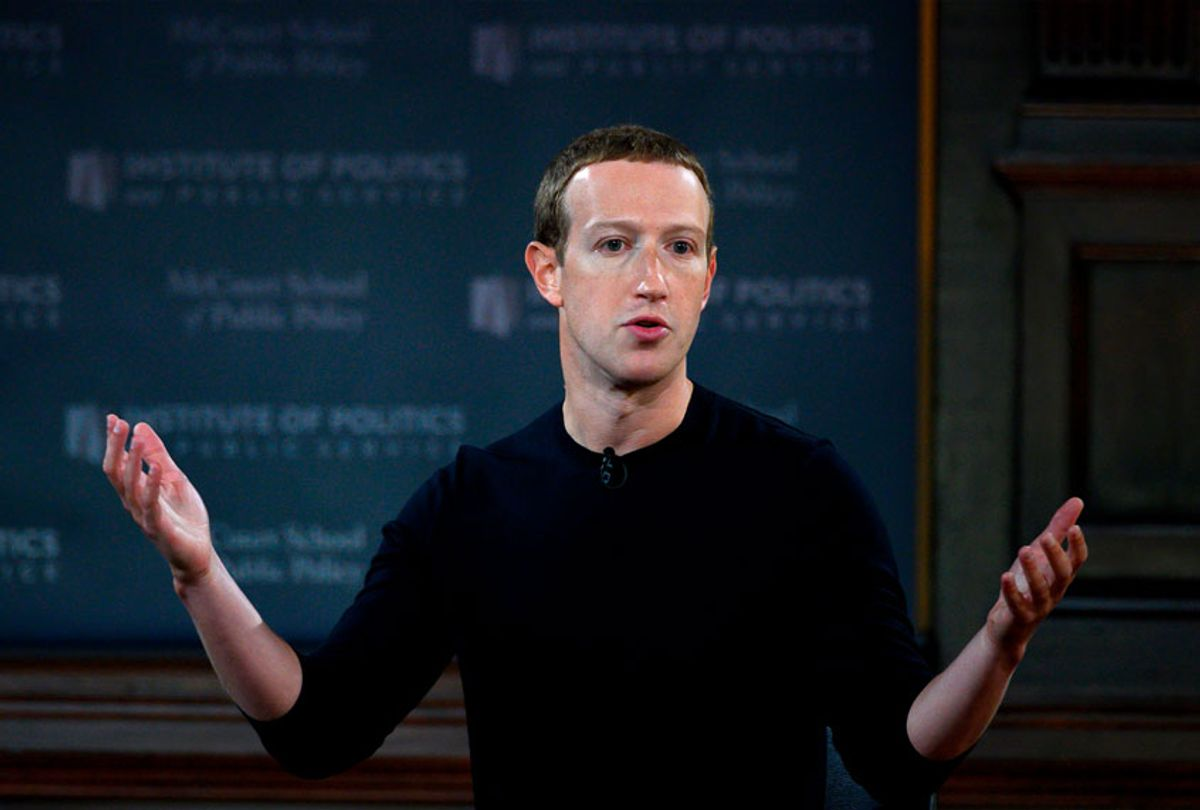 Facebook founder Mark Zuckerberg (ANDREW CABALLERO-REYNOLDS/AFP via Getty Images)