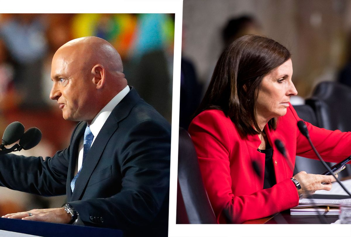 Martha McSally and Mark Kelly (Photo illustration by Salon/Getty Images)