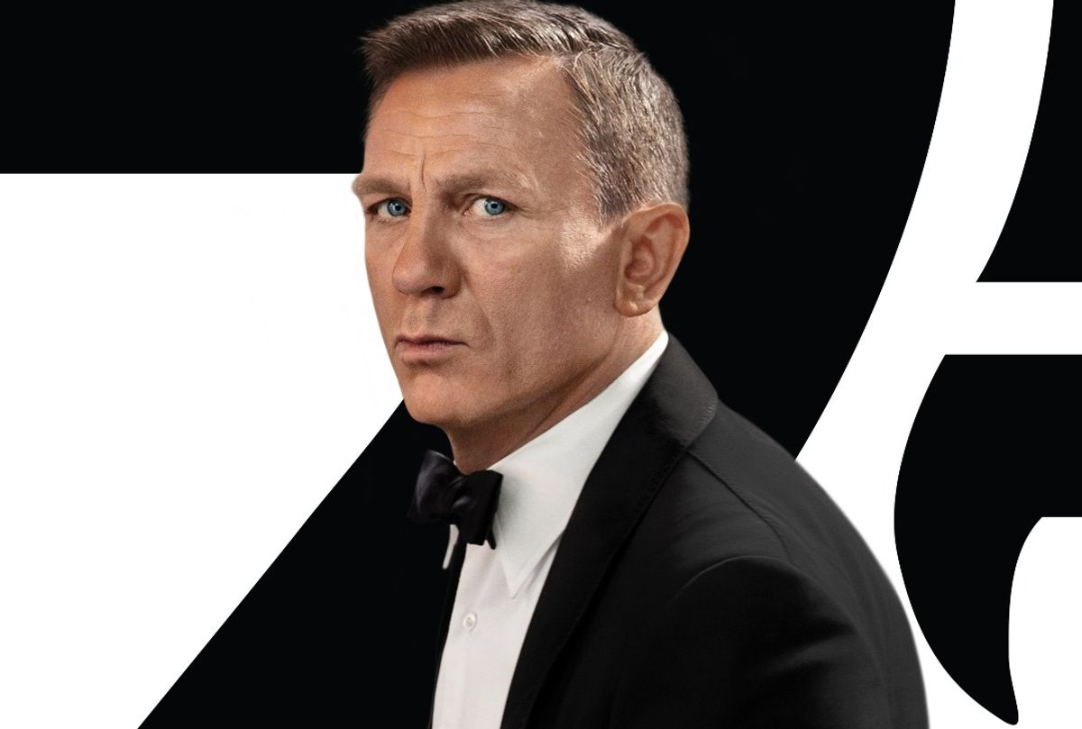 """Daniel Craig in """"No Time to Die"""" poster (MGM)"""