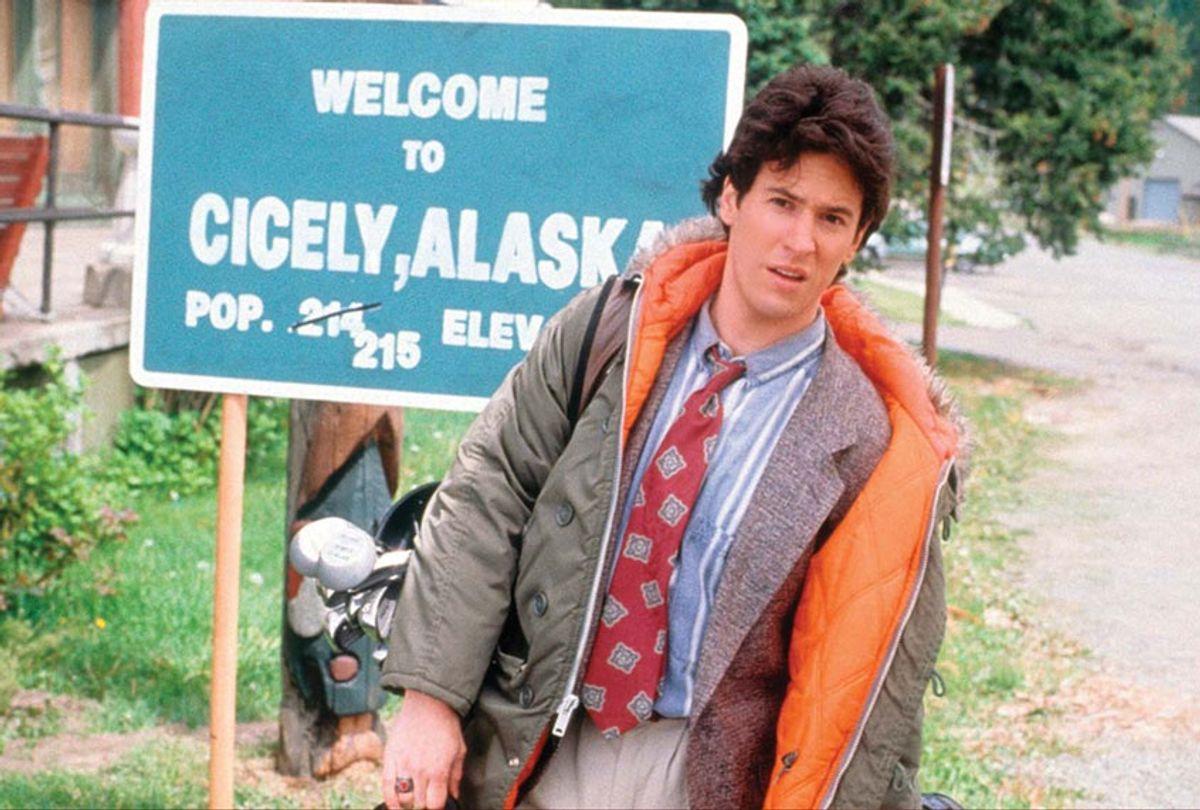 "Rob Morrow played Dr. Joel Fleischman on ""Northern Exposure"" (CBS)"