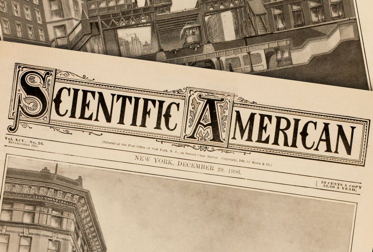 Scientific American magazine from December 29, 1906 (GHI/Universal History Archive via Getty Images)