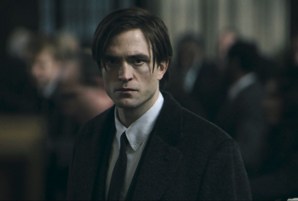 "Robert Pattinson in ""The Batman"" (Warner Bros. Pictures ™ & © DC Comics)"