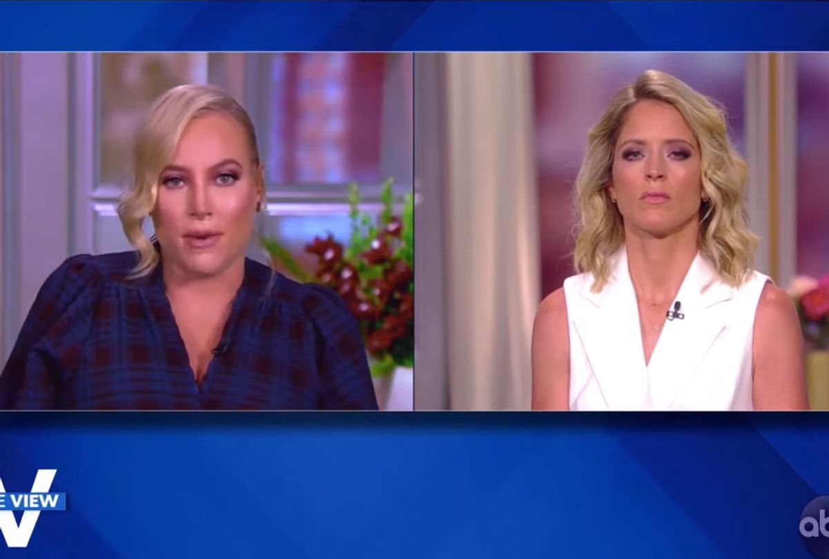 Meghan McCain and Sara Haines on The View (ABC)