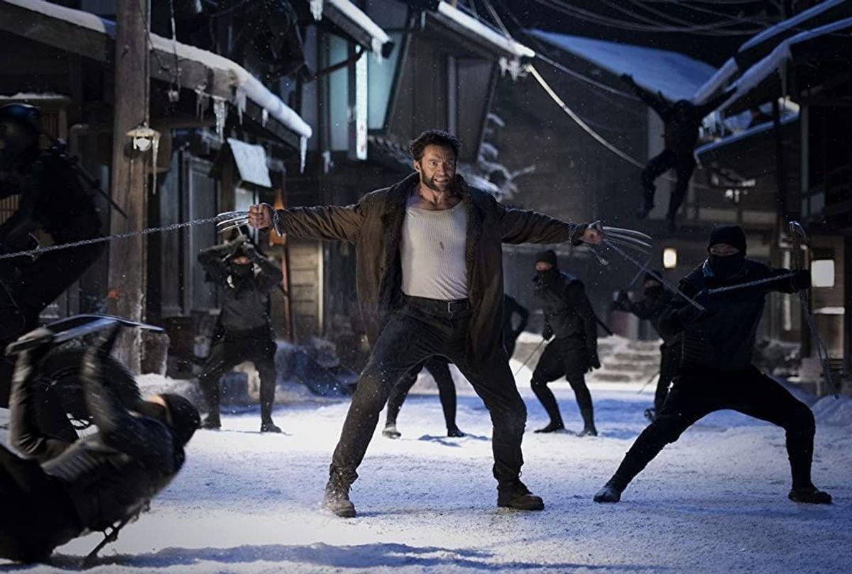 """Hugh Jackman in """"The Wolverine"""" (2013) (Ben Rothstein/Marvel/Twentieth Century Fox)"""