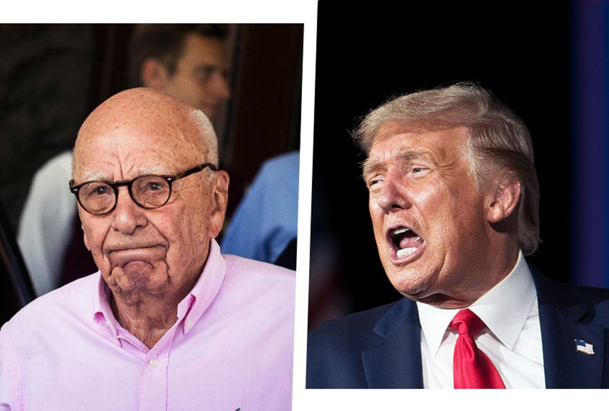 Rupert Murdoch and Donald Trump (Photo illustration by Salon/Getty Images)
