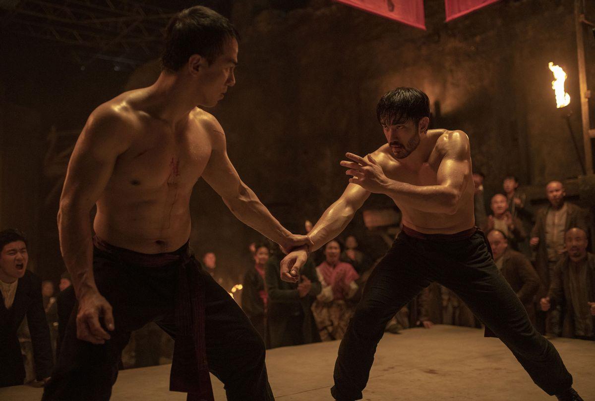 "Joe Taslim (as Young Jun) and Andrew Koji (as Ah Sahm) in ""Warrior"" Season 2 (Graham Bartholomew/CINEMAX)"