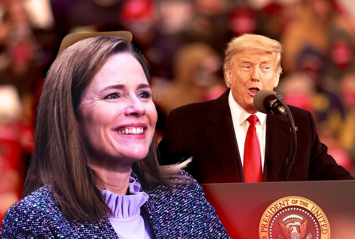 Amy Coney Barrett Sides With Religious Groups Over New York Gathering Limits