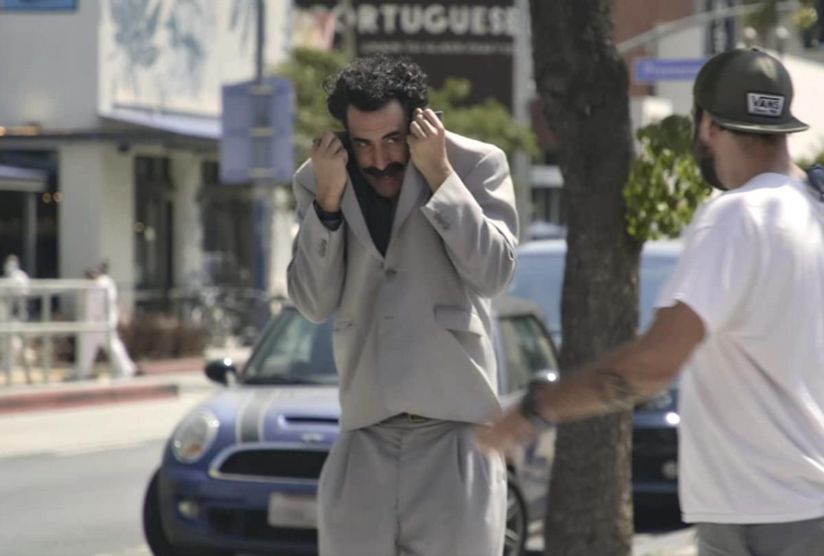 "Sacha Baron Cohen stars in ""Borat Subsequent Moviefilm"" (Amazon)"