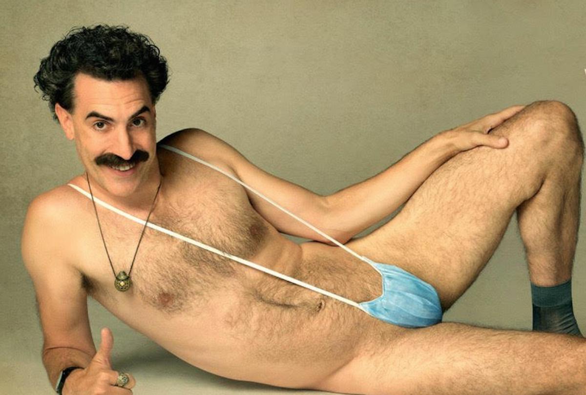 "Sacha Baron Cohen in ""Borat: Subsequent Moviefilm"" (Amazon)"
