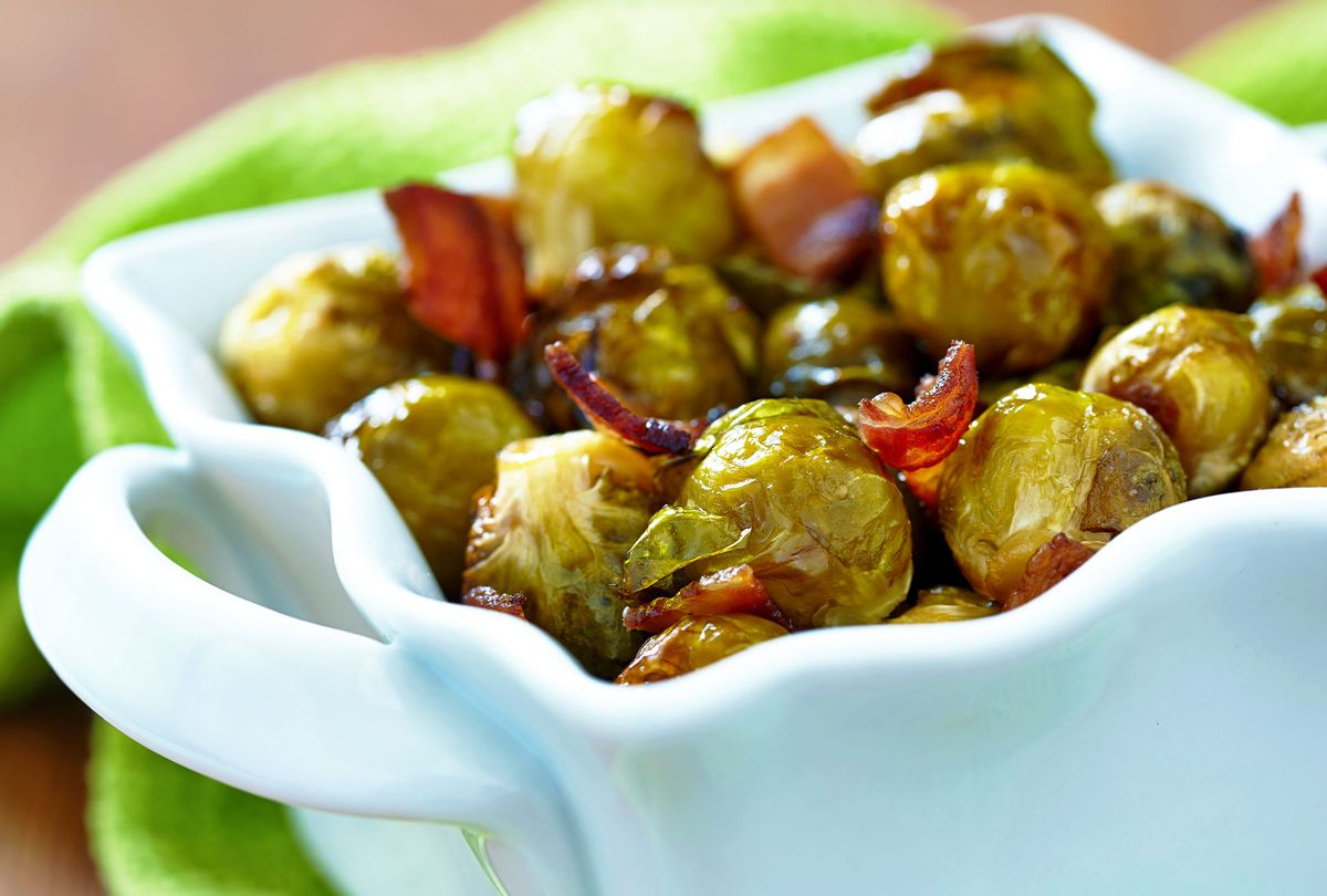 Carmelized brussel sprouts (Getty Images)