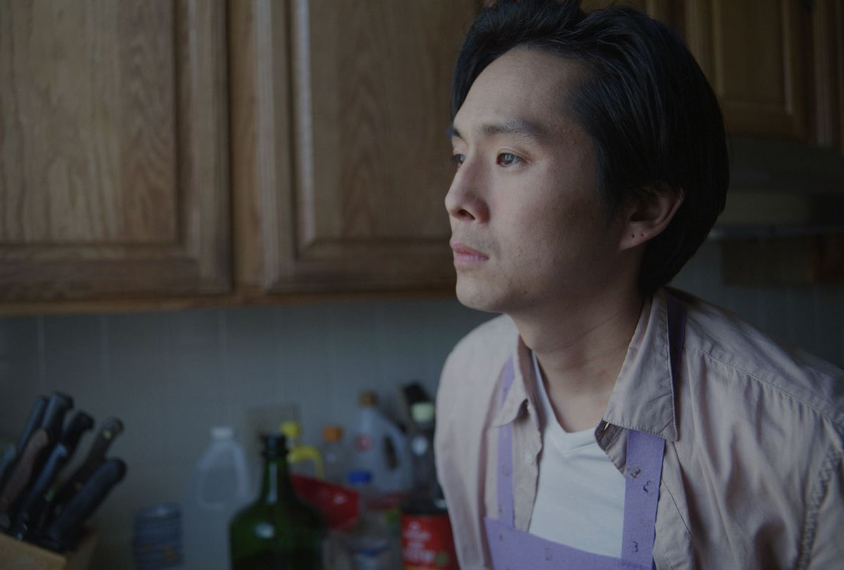 """Justin Chon in """"Coming Home Again"""" (Outsider Pictures)"""
