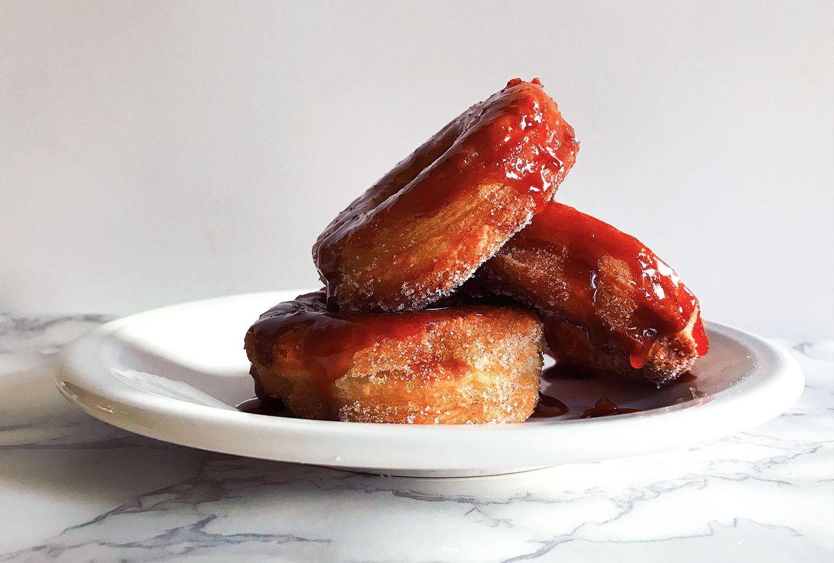 Apple Cider Caramel Cronuts (Mary Elizabeth Williams)
