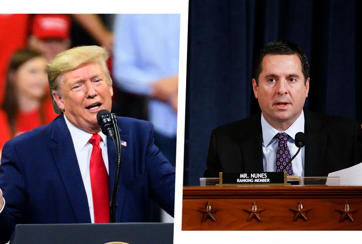 Donald Trump and Devin Nunes (Photo illustration by Salon/Getty Images)