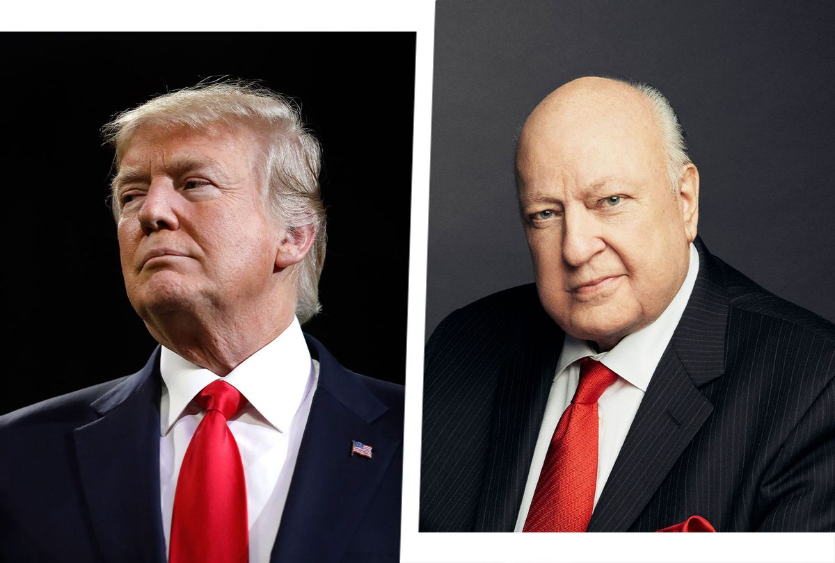 Donald Trump and Roger Ailes (Photo illustration by Salon/Getty Images)