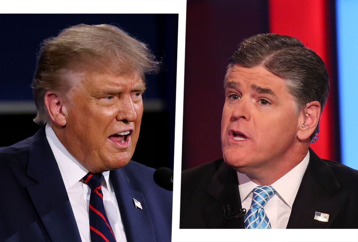 """White House wanted Hannity to stop telling Trump """"crazy stuff"""" during campaign: book"""