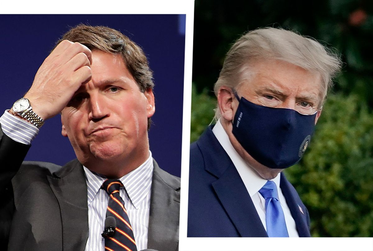 Donald Trump and Tucker Carlson (Photo illustration by Salon/Getty Images)