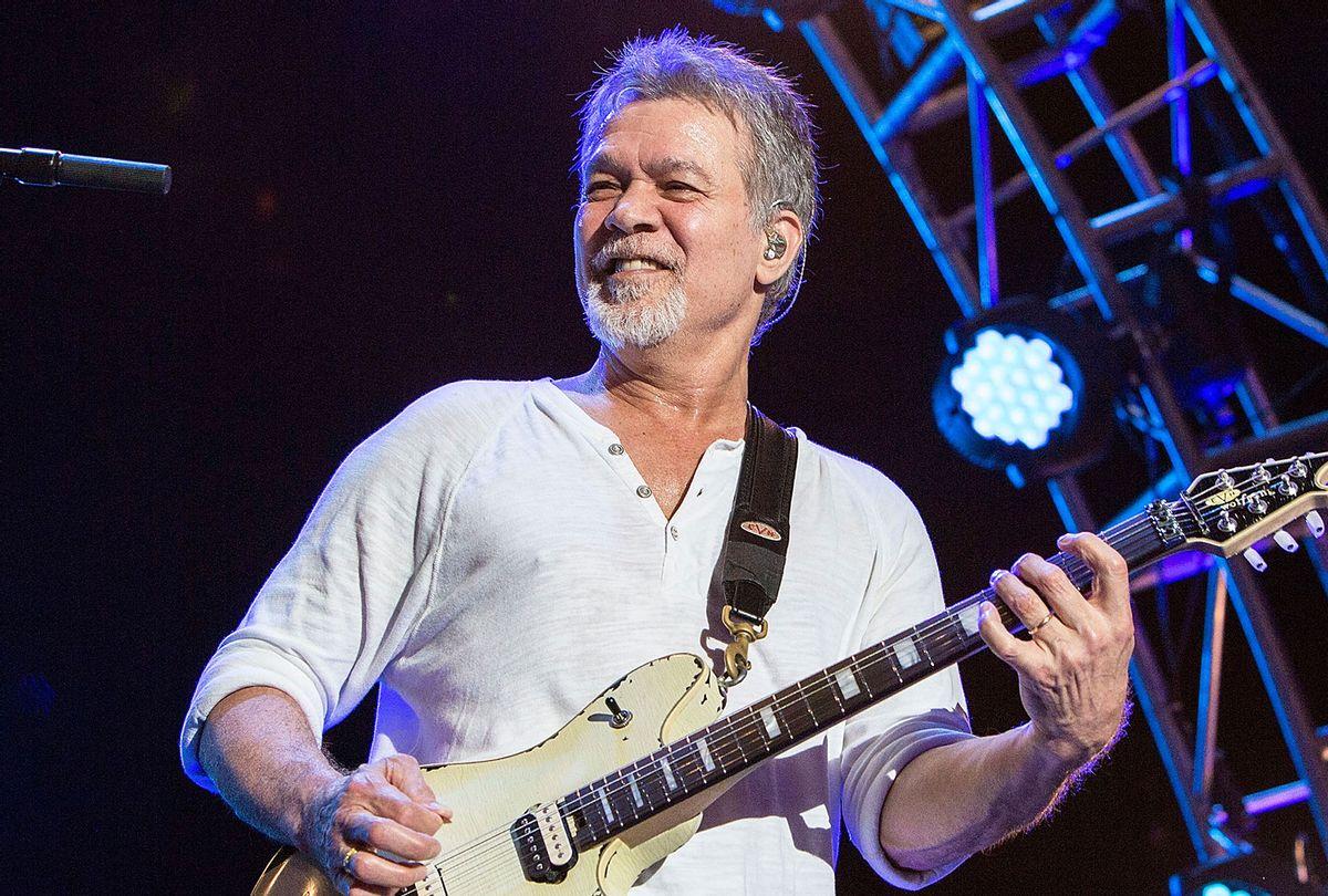 Guitarist Eddie Van Halen of Van Halen (Daniel Knighton/Getty Image)