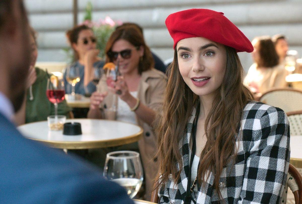 "Lily Collins in Darren Star's ""Emily in Paris"" (Netflix)"