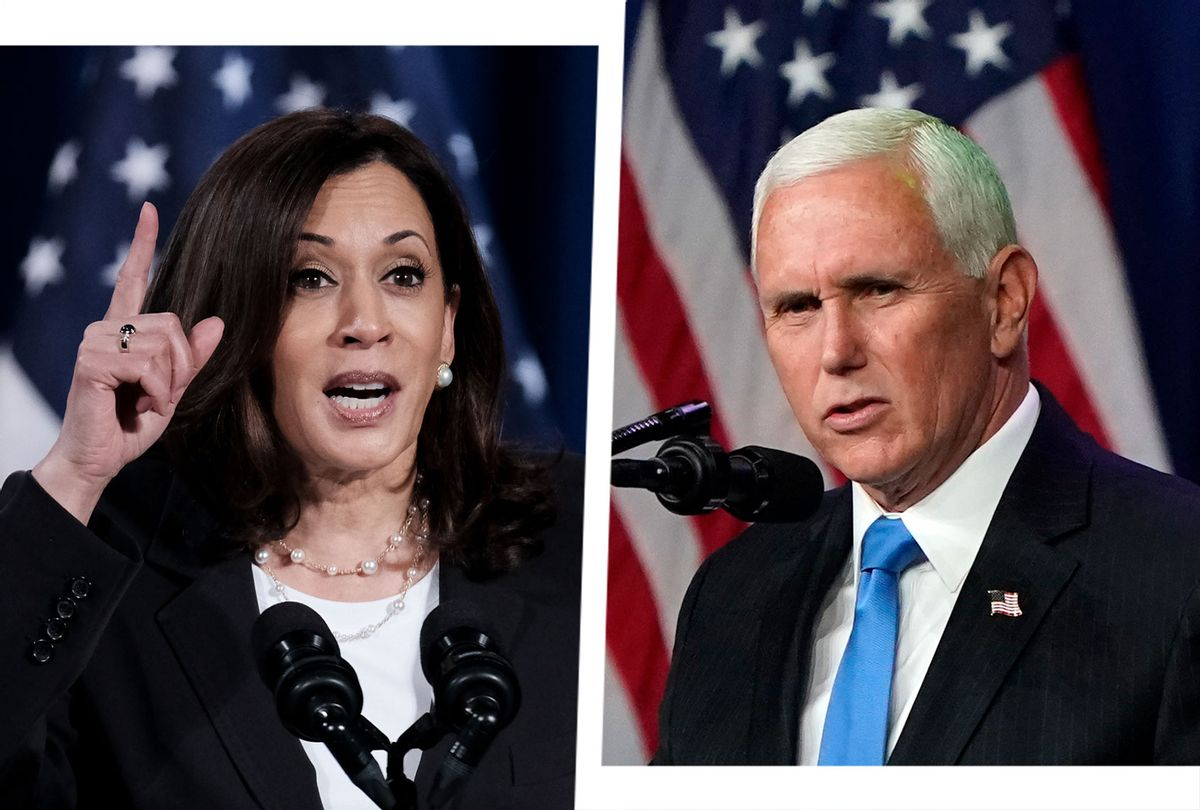 Kamala Harris and Mike Pence (Photo illustration by Salon/Getty Images)