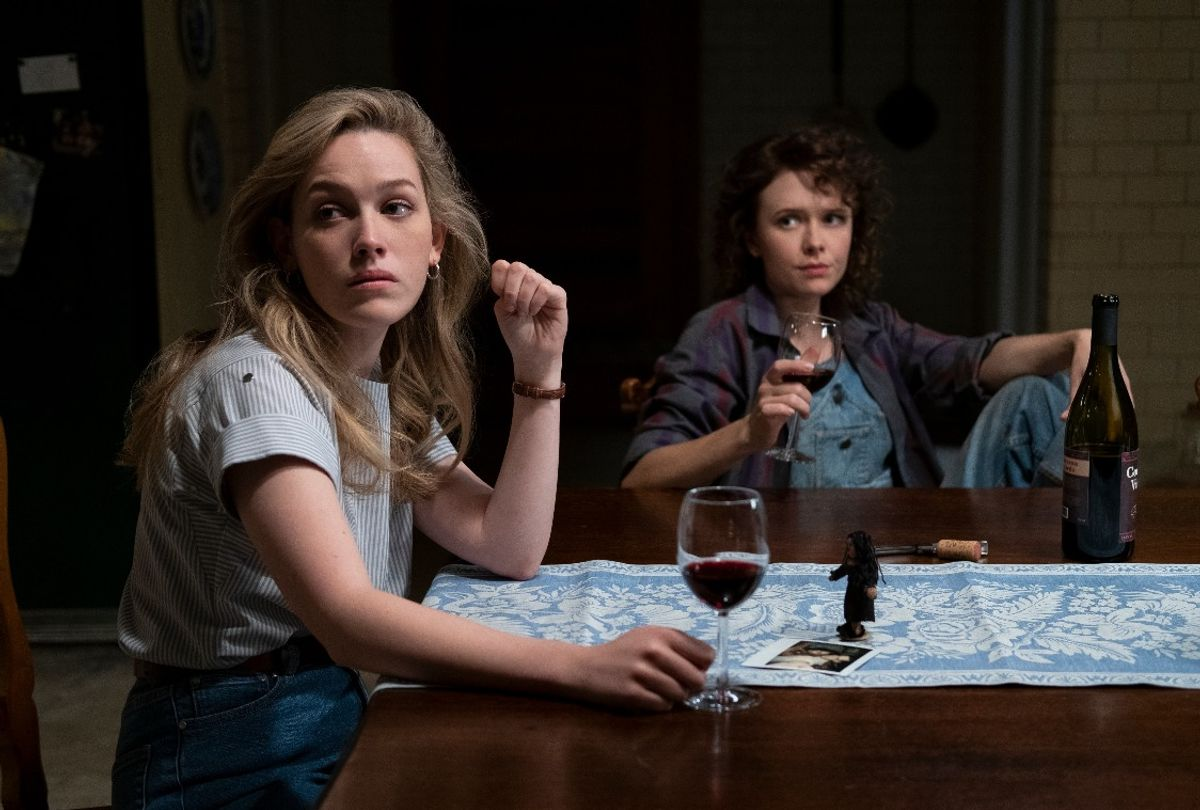 """Victoria Pedretti and Amelia Eve in """"The Haunting of Bly Manor"""" (Eike Schroter/Netflix)"""