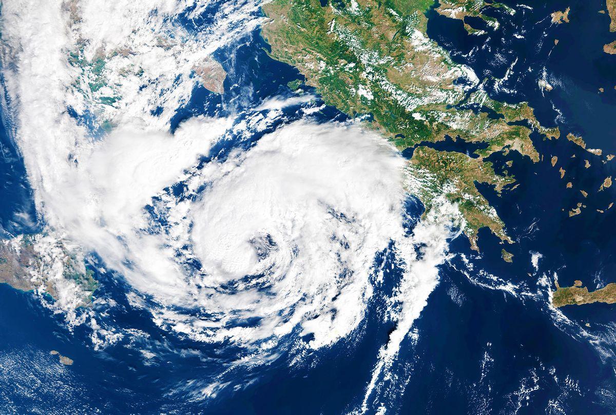 Mediterranean hurricane (Medicane) Ianos makes landfall in Greece. (Gallo Images/Orbital Horizon/Copernicus Sentinel Data 2020)