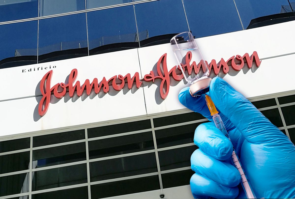 Building of the company Johnson and Johnson | Vaccine (Photo illustration by Salon/Getty Images)