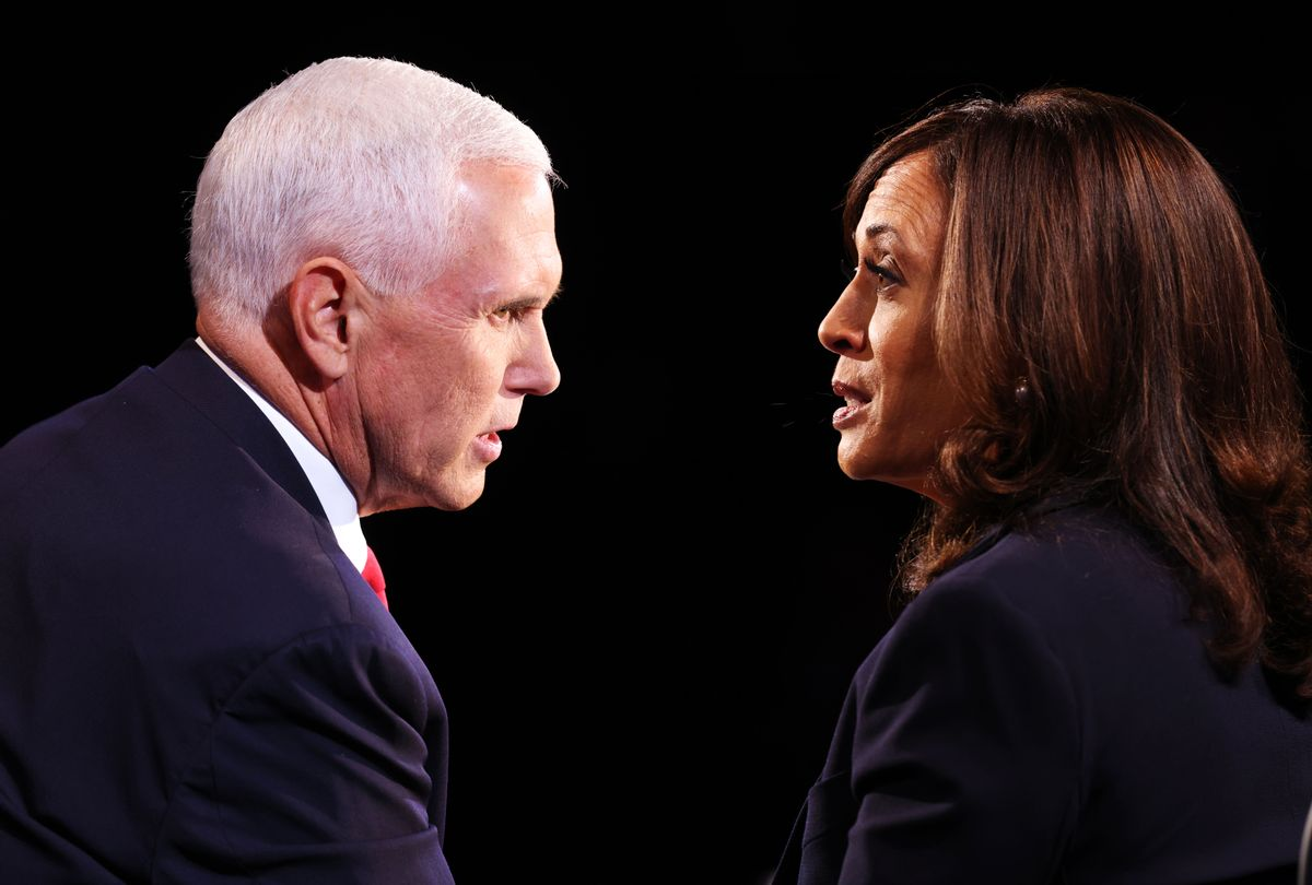 Mike Pence and Kamala Harris (Photo illustration by Salon/Getty Images)