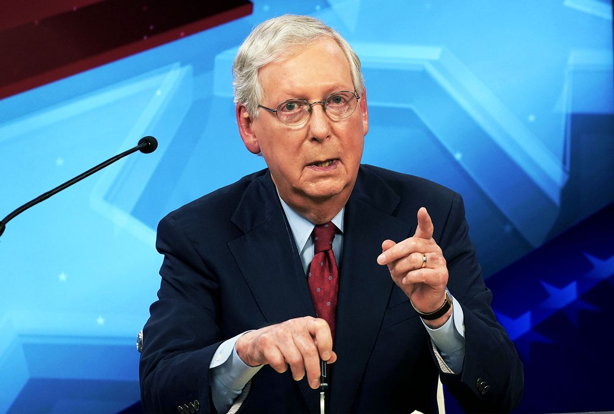 Senate Majority Leader Mitch McConnell (Michael Clubb-Pool/Getty Images)
