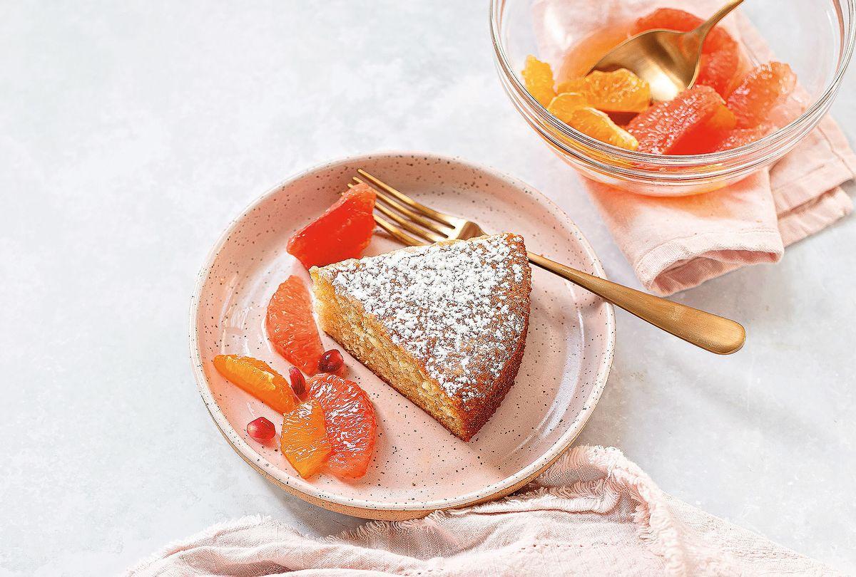 Orange Flow Olive Oil Cake (Karen Tedesco)