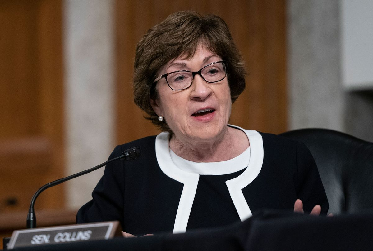 U.S. Sen. Susan Collins (R-ME) (Alex Edelman-Pool/Getty Images)