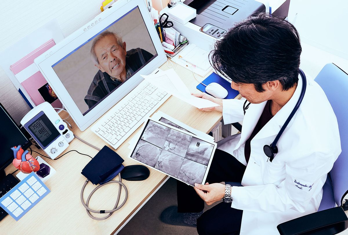 Telemedicine doctor and patient (Getty Images)