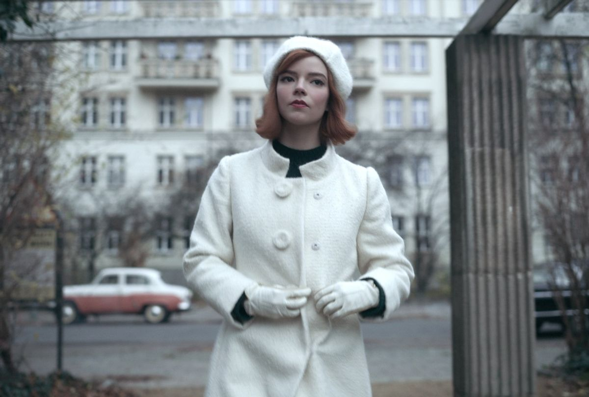 """Anya Taylor-Joy as chess prodigy Beth Harmon in """"The Queen's Gambit"""" (Netflix)"""